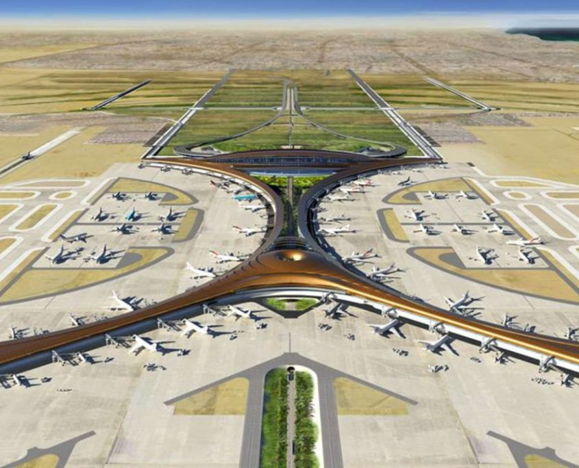 King Abdul Aziz International Airport Extention